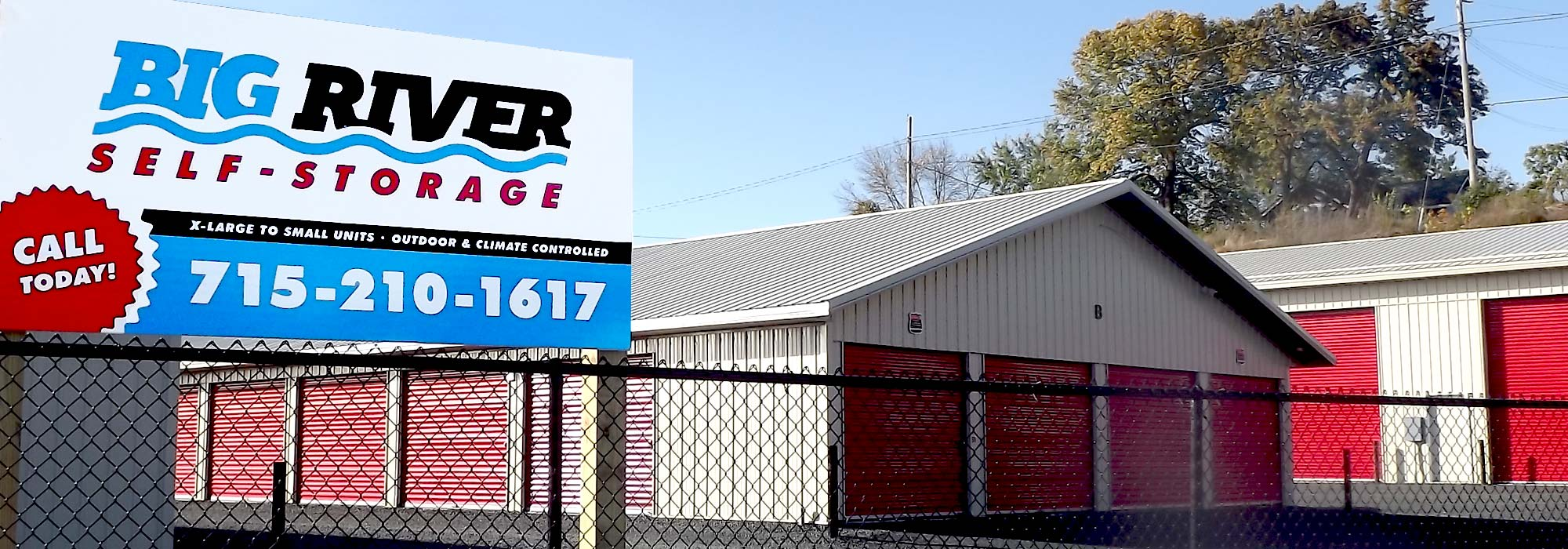 Big River Storage - Eau Claire Storage Units